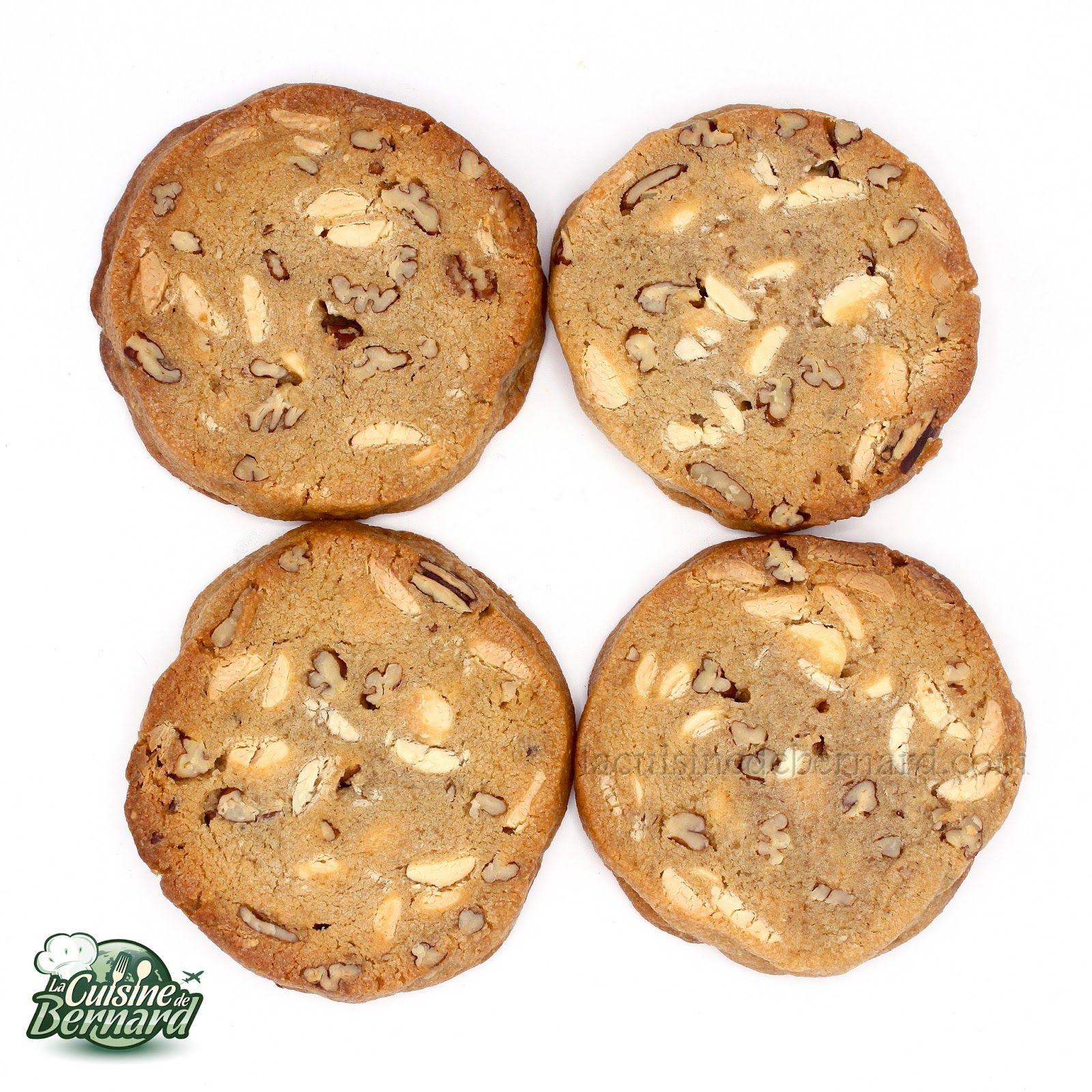 La Cuisine de Bernard  Cookies au chocolat blanc et noix de pcan  Recettes cookies  Cookies