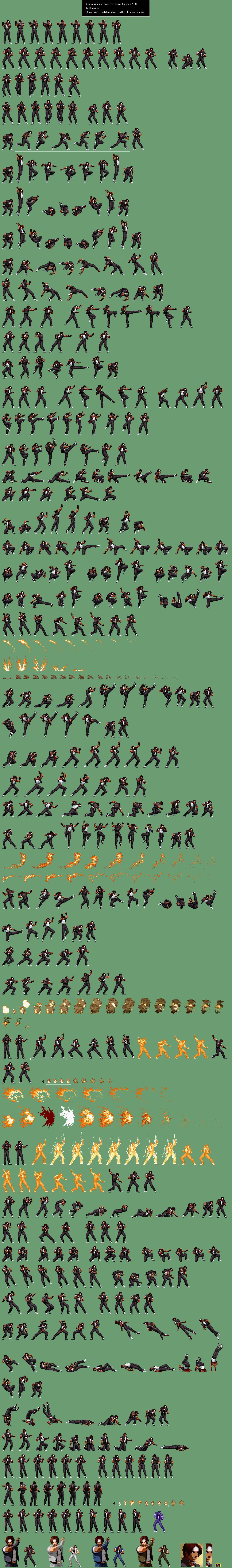 Sprite Database Kusanagi Sprite Database Pixel Art Sprite