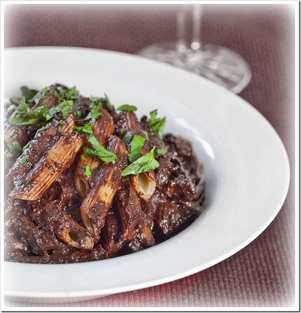 Chocolate Pasta with Anchovies