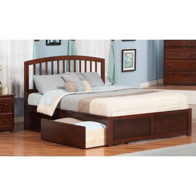 Barrel Studio Tirado King Platform Bed with Drawer Bed Color ...