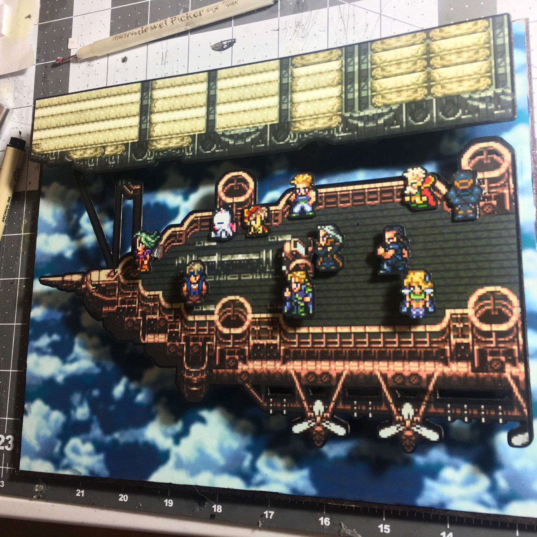Final Fantasy 6 Box Art