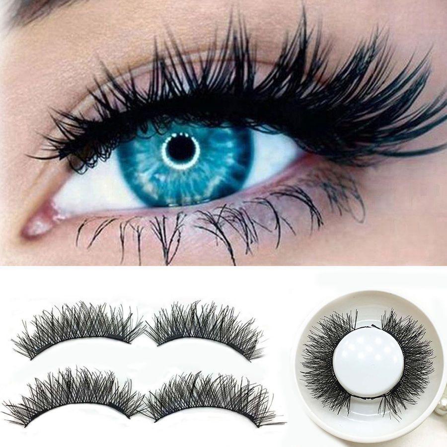 6f1e5dcfe4a Double Magnetic Eyelashes 3D Reusable False Magnet Eye Lashes Extension UK  Stock#Reusable#False#Eyelashes