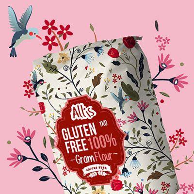 Allis Gluten Free – obalový dizajn, ktorý rozkvitol