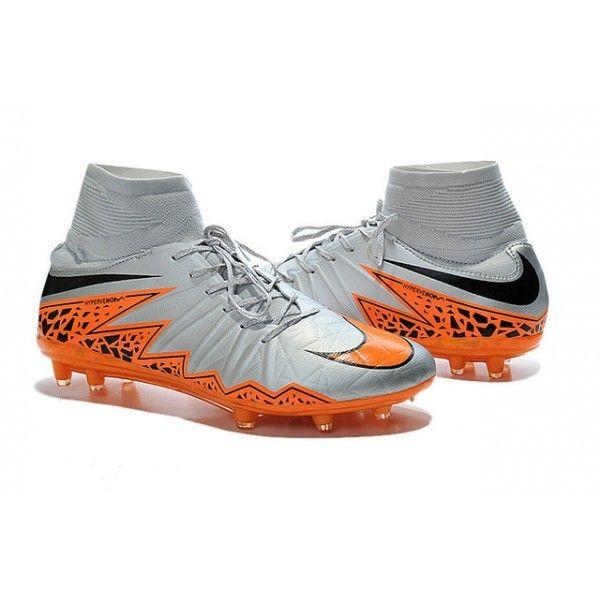 huge discount 8268f ba680 2015 Nike HyperVenom Phantom II FG Football Boots Wolf Grey Black Orange