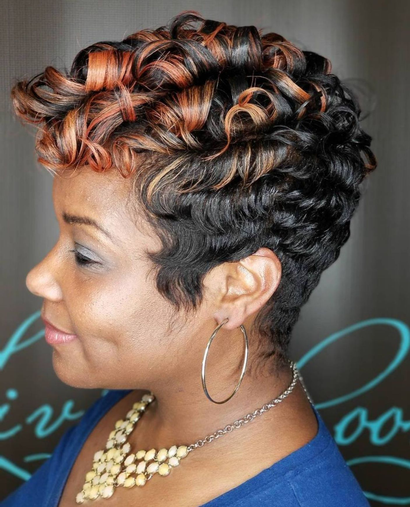 60 Great Short Hairstyles For Black Women Curly Hair Styles