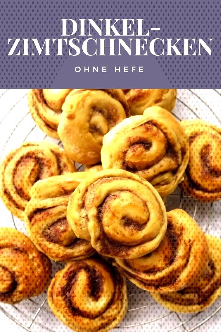 Spelled cinnamon buns without yeast and refined sugar - Spelled cinnamon rolls without yeast -