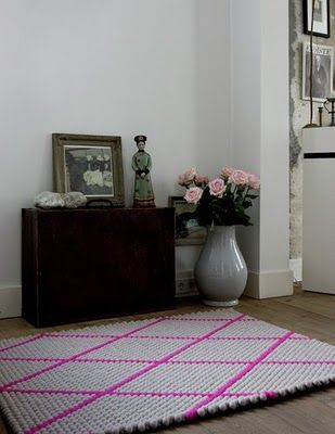 love these dot rugs by Hay