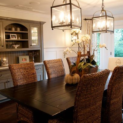 Dining table decor for an everyday look lighting ideas for Casual dining lighting