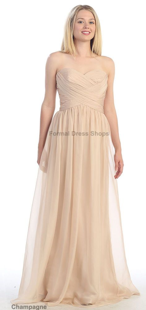 Bridesmaid Simple Evening Dress Formal Banquet Birthday Party Gowns