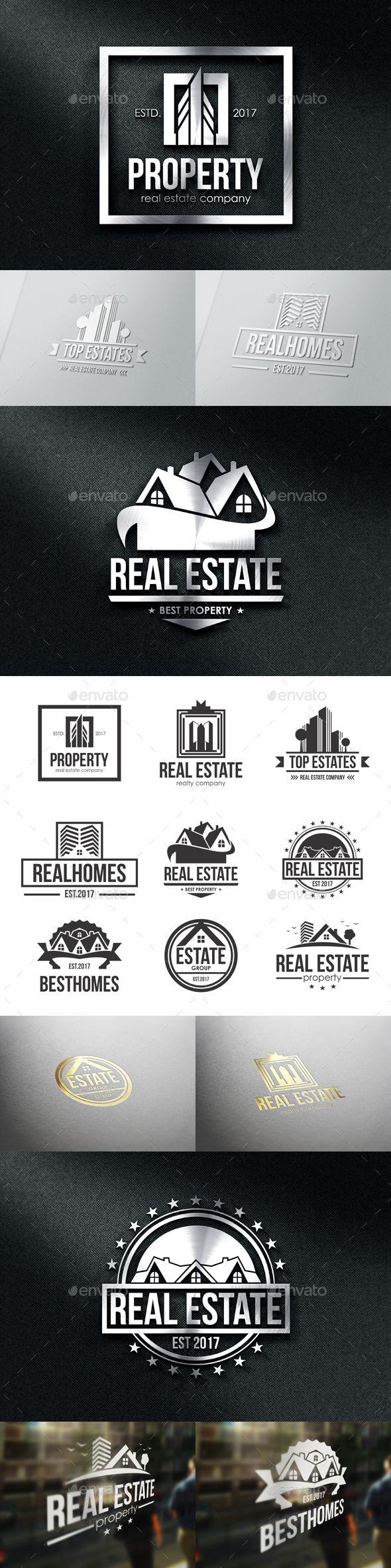 Property Real Estate Badges & Logos Real estate logo