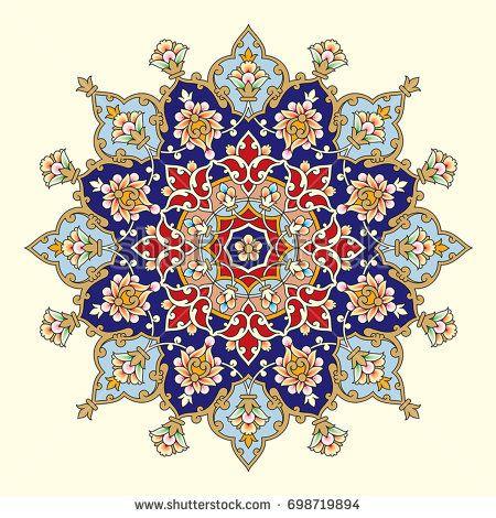 Pin On Border Islamic Patterns Tezhib Illuminati