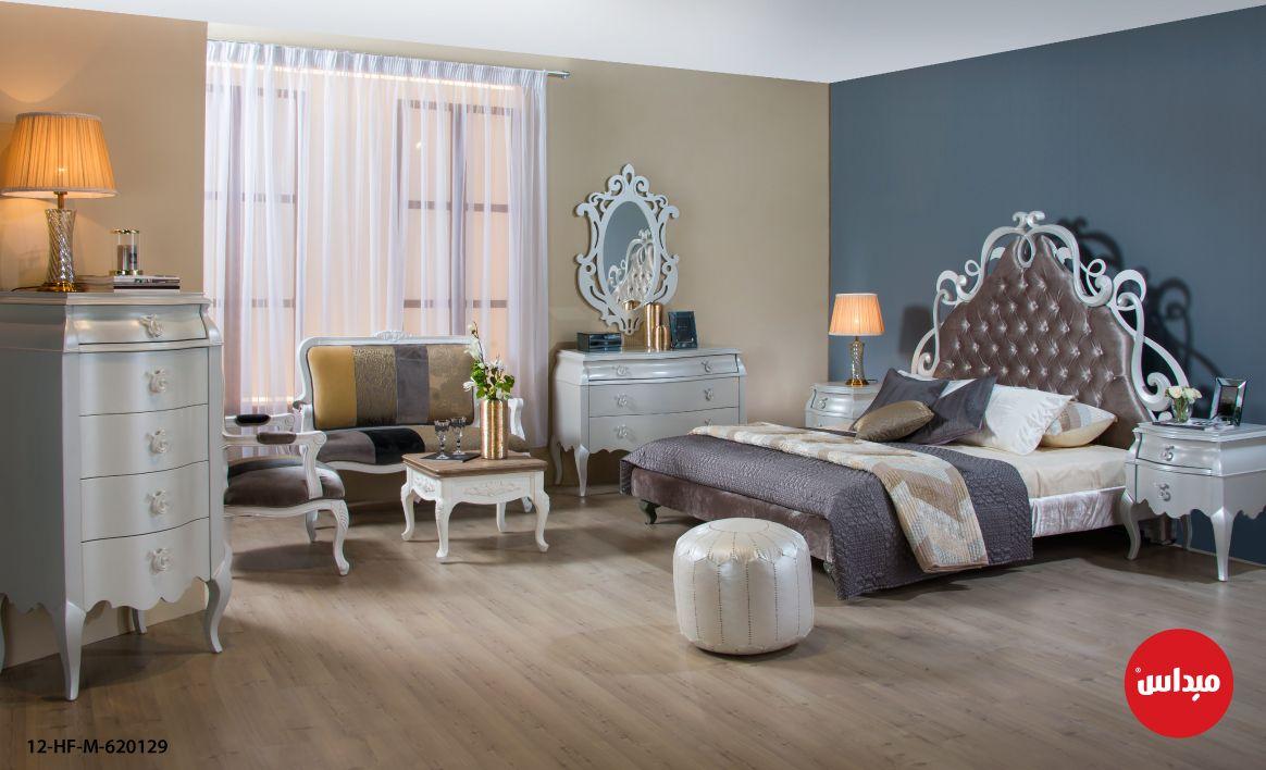 غرفة نوم ملكية بجميع تفاصيلها غرف نوم فخامة ميداس Home Decor Decor Furniture
