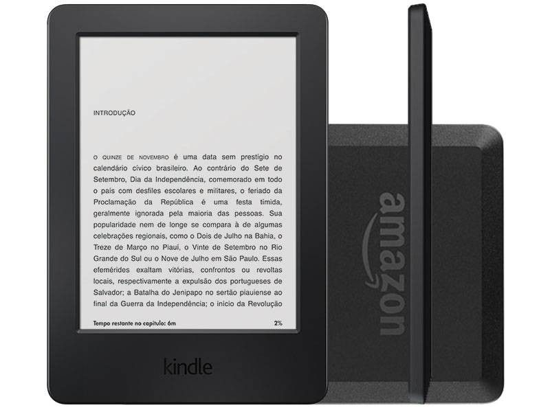 [MagaLu] Leitor Kindle por R$209 WI FI 4g