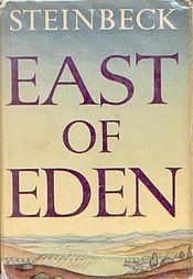 East of Eden: John Steinbeck. Steinbeck at his all time greatest. Love this novel.