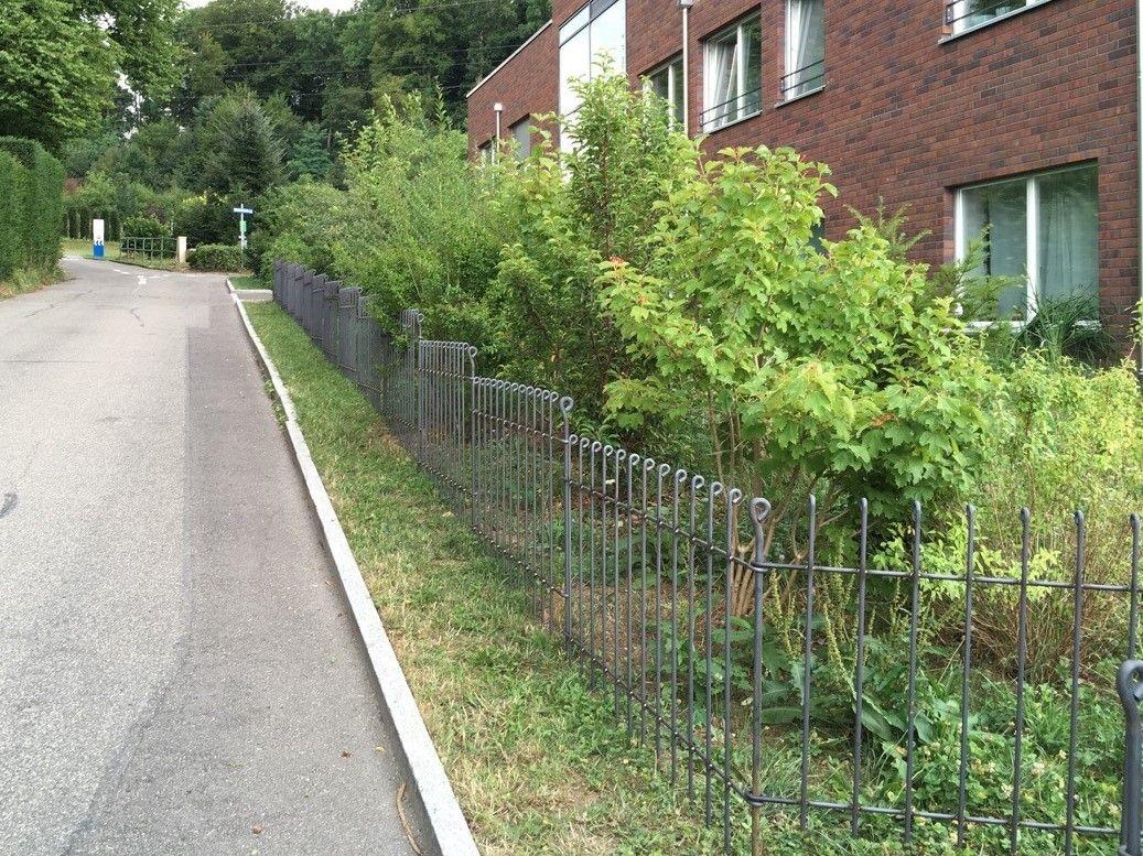 Der Zaun ist sehr schön geworden und entspricht unseren