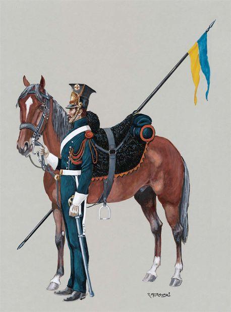żandarm - Litwa 1812.mal.R.Morawski