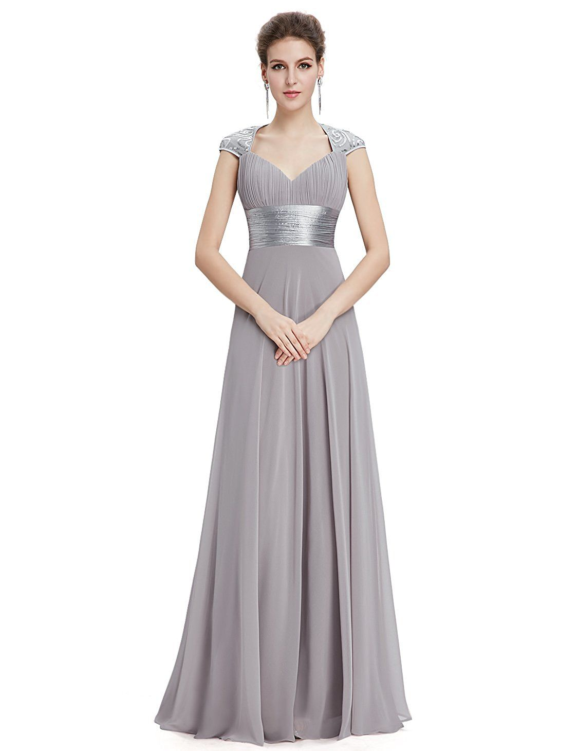 9cb3a0291bc3 Ever Pretty Chiffon Sexy V-neck Ruched Empire Line Evening Dress 09672