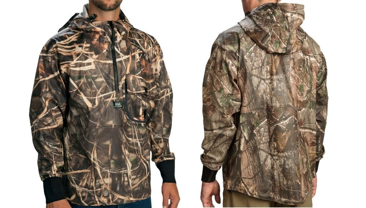 92167fe0b0add New Helly Hansen Roan Anorak Hunting Camo Rain Jacket Waterproof M/L/XL/2XL