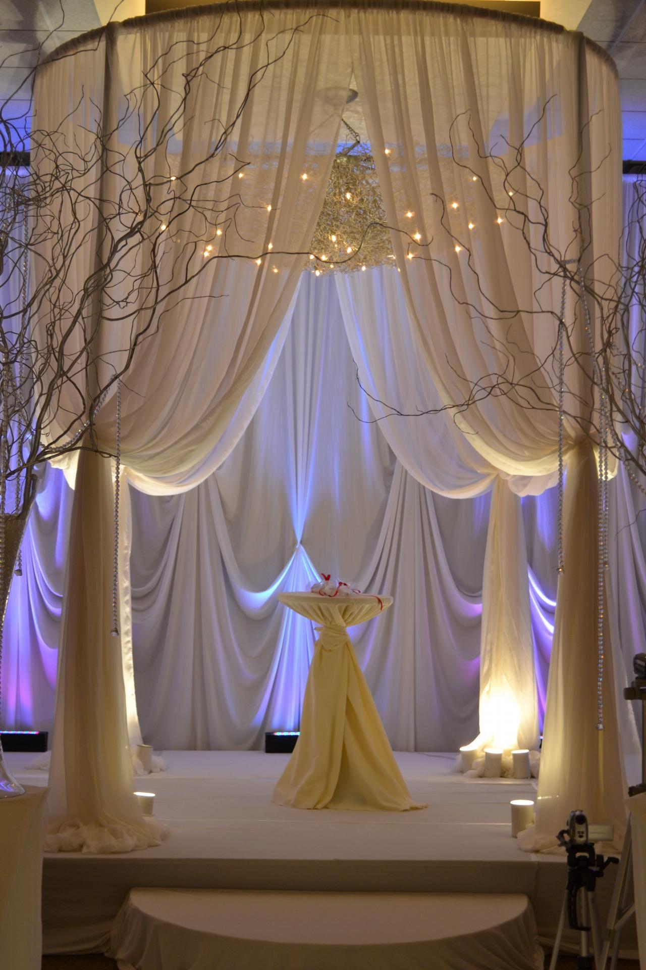 Prestige Wedding Decoration Home Drapery Treatments Wedding Bridal Shower Hollywood Wedding