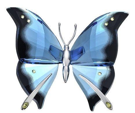 6861d47dc9 Retired Swarovski Crystal Figurine Butterfly   Swarovski Crystals ...