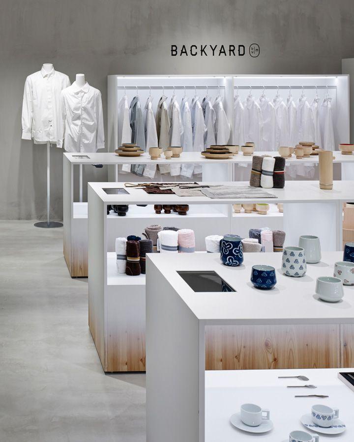 Backyard By N Store By Nendo Yokohama Japan Home Decor Fashion
