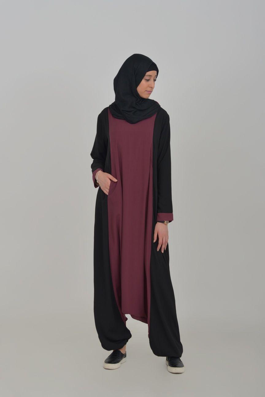 Abaya sarouel sport