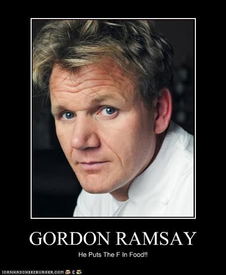 Kitchen Nightmares Food: Gordon Ramsay Is AWESOME!