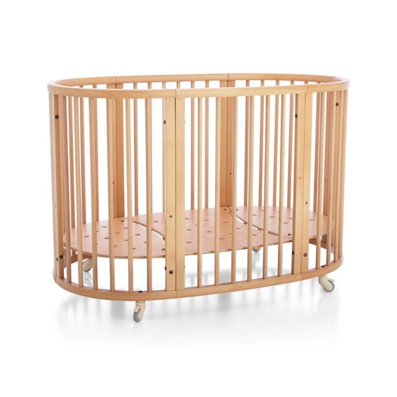 Stokke Natural Convertible Sleepi Crib And Toddler Bed Cribs