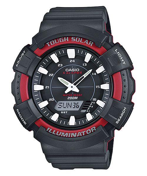 af1e369bb729 Casio Reloj con Correa de Goma para Hombre Relojes Deportivos. Novedad  Analógico-Digital