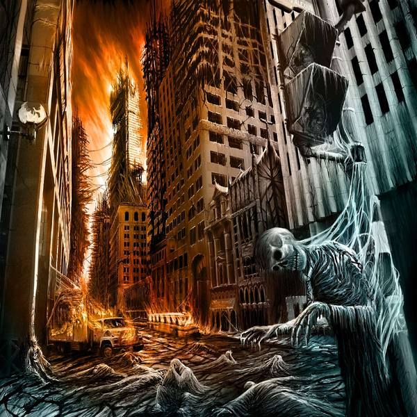 Post Apocalyptic Cities By Vitaly S Alexius Via Behance Post Apocalyptic City Digital Art Illustration Sci Fi Concept Art