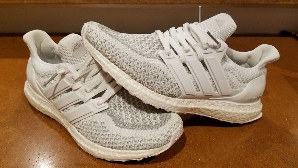 9a68e7c8a Adidas Ultra Boost 2.0 Limited BB3928 Triple White 3m Reflective Men s Size  9.5  fashion  clothing  shoes  accessories  mensshoes  athleticshoes (ebay  link)