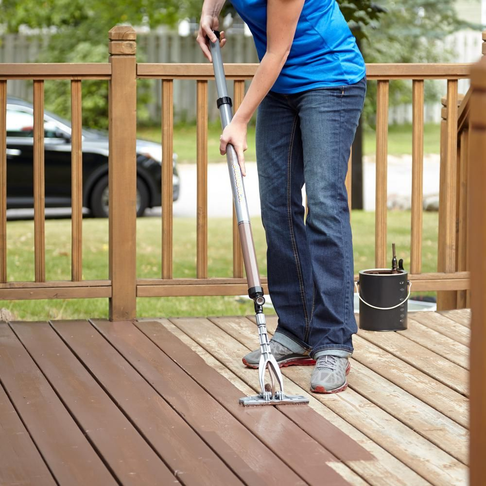 Deck Sprayers Stain Tools Collection Paint The Home Depot In 2020 With Images Staining Deck Deck Sprayer Stain Applicators