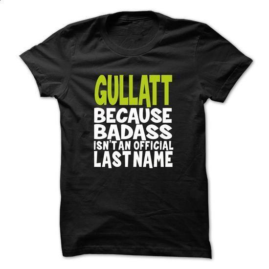 (BadAss001) GULLATT - #gift for kids #shirt diy