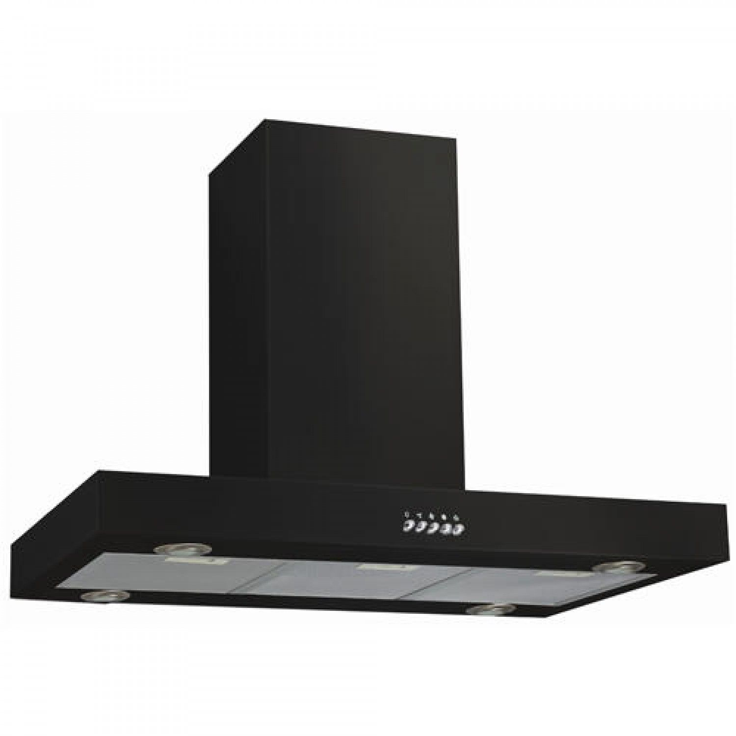 36 Maestro Series Stainless Steel Black Island Range Hood 600 Cfm Kitchen Island Range Hood Matte Black Kitchen Stainless Steel Island