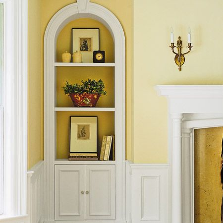 Decorating Architectural Niches - Meadow Lake Road | New house ...
