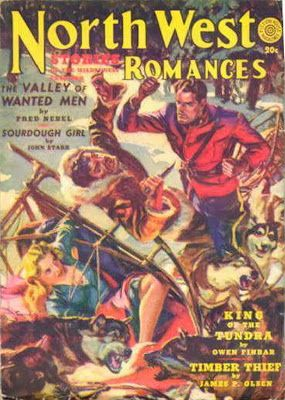 North West Romances pulp magazine