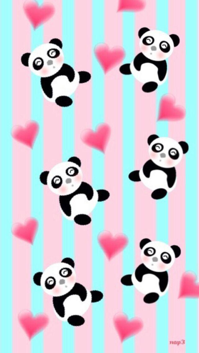 Pandas Cute Panda Wallpaper Panda Background Panda Wallpapers Cute pink panda wallpaper for cellphone