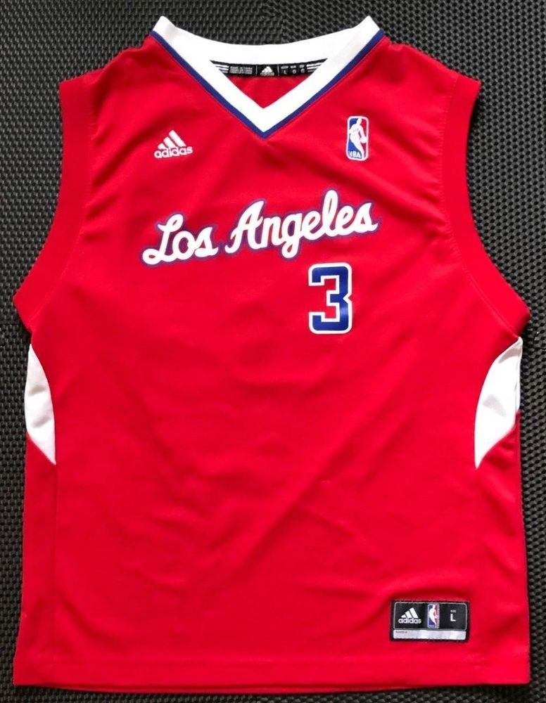 c95a36d2795b Los Angeles Clippers NBA Basketball Kids  Chris Paul  3 Jersey sz L  adidas   Clippers  NBA  basketball  fashionspectrumebay  teewarehouseebay