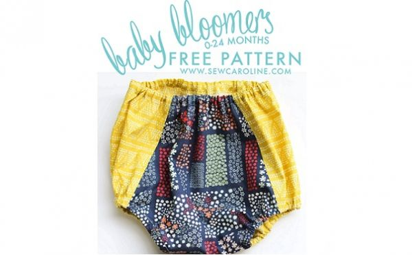 Free pattern: Baby bloomers (Sewing | Free pattern, Patterns and ...