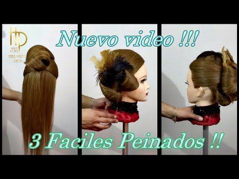 Peinados Faciles y Rapidos - 3 easy hairstyles #HPStylist v#19