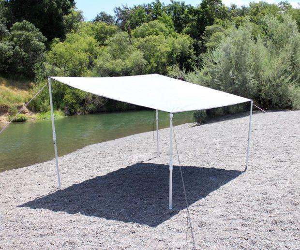 Easy Portable Beach Shelter Portable Canopy Diy Canopy