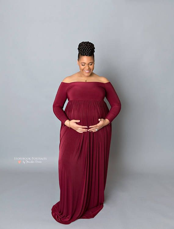 c6af5ce29df Plus size maternity dress Maternity gown Photo shoot photo prop ...