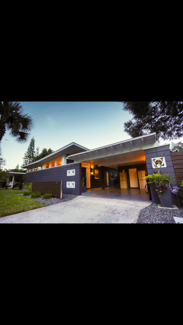 Mid Century Modern Home For Sale Orlando Fl Live Pinterest