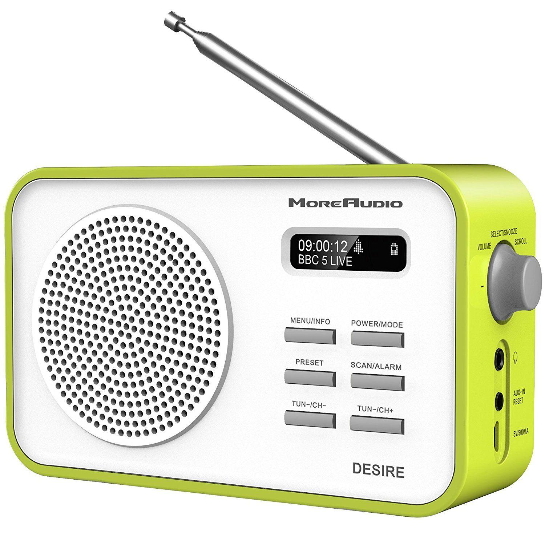 541575e89ae5 MoreAudio Desire DAB Digital FM Radio Alarm Clock ...