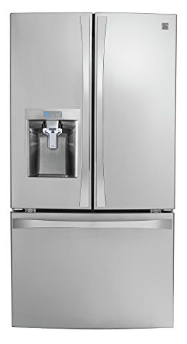 Kenmore 4675043 Smart French Door Bottom Mount Refrigerator 24 Cu