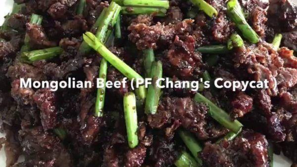 P F Chang S Copycat Mongolian Beef Recipe Mongolian Beef