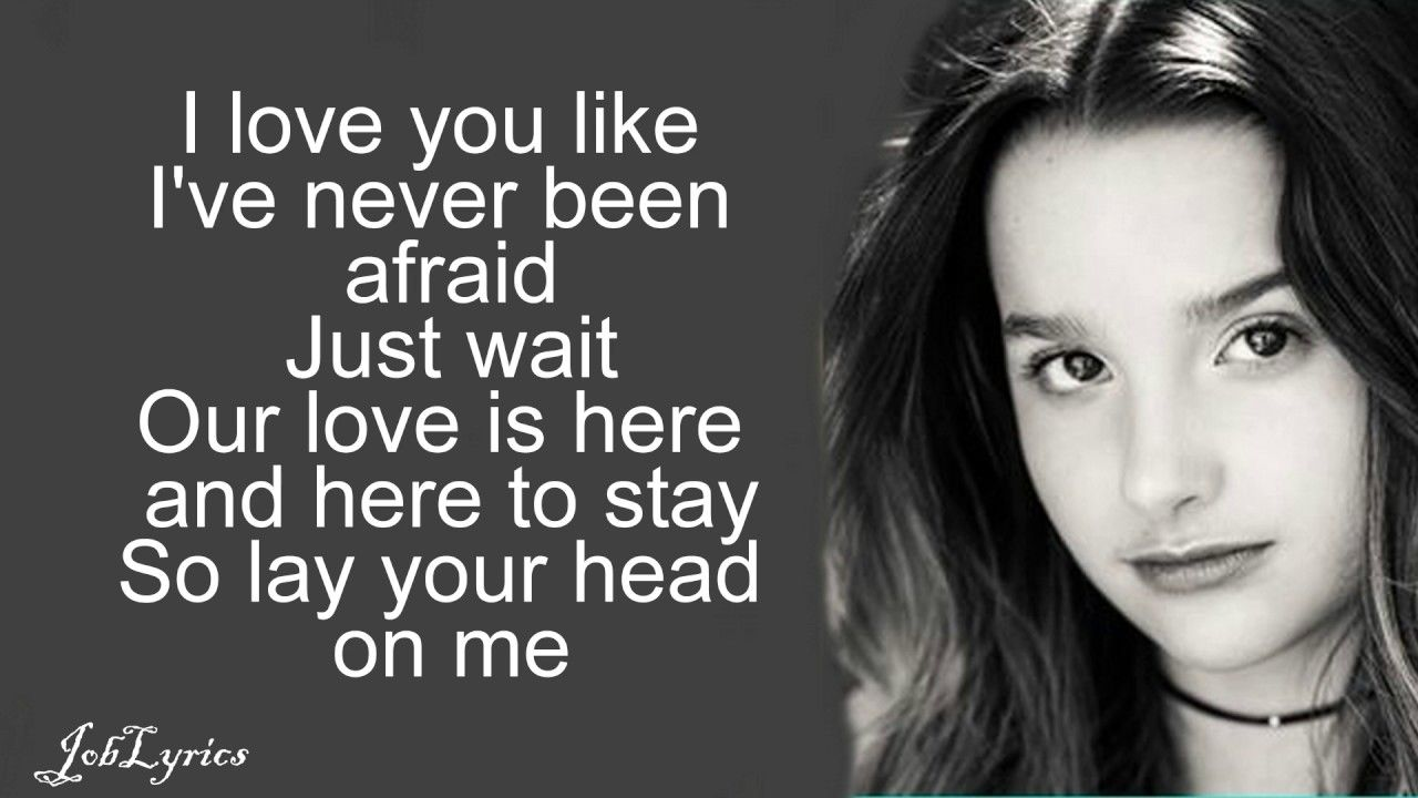 Alex Sierra Little Do You Know Annie Leblanc Hayden