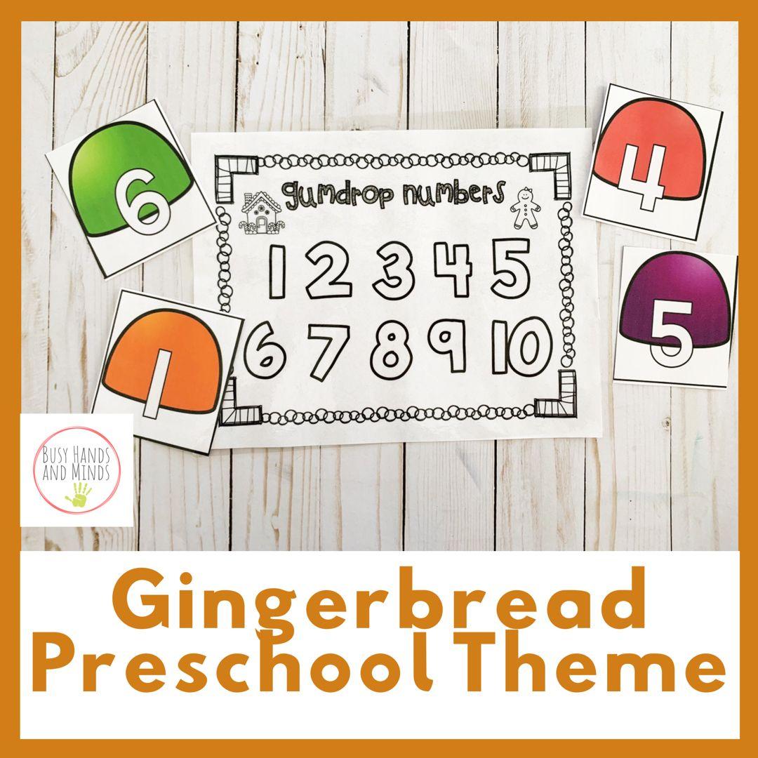 Gingerbread Preschool Pack