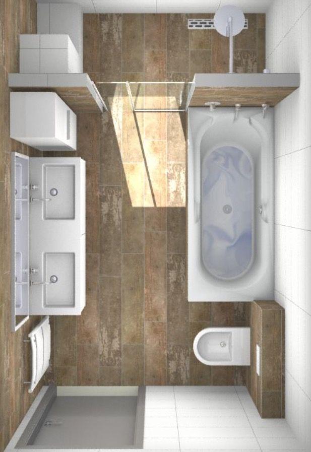 Houtlook keramische tegels ??   Badkamer   Pinterest   Badezimmer ...