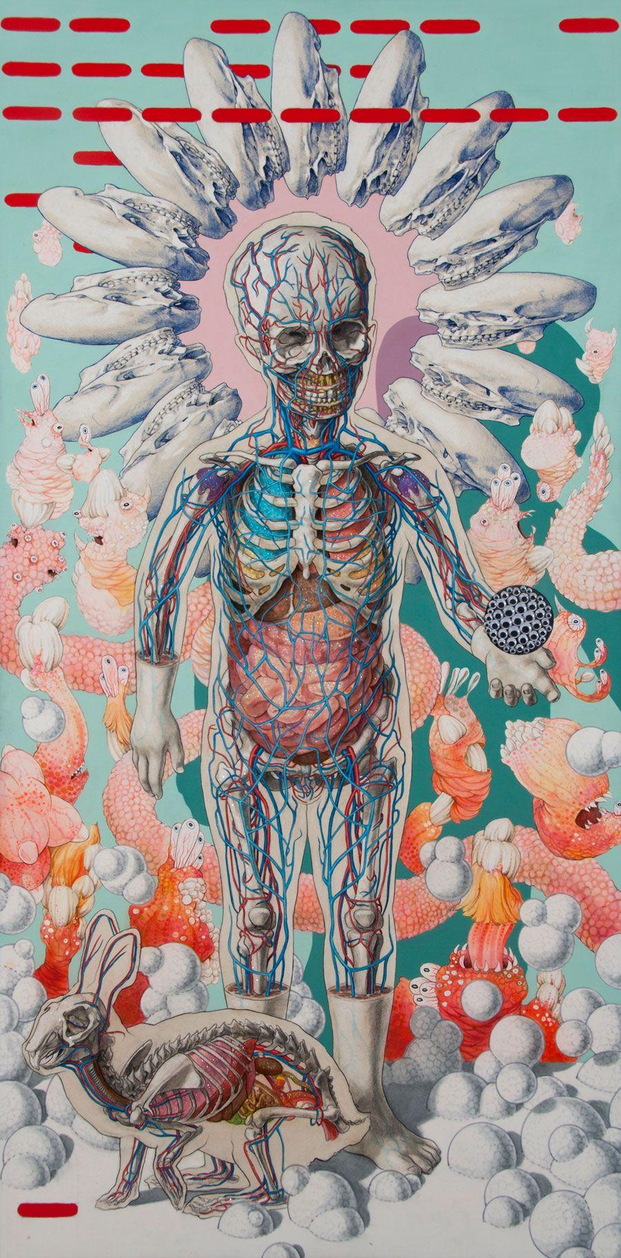 MICHAEL REEDY | Pinturas, Anatomía y Ilustraciones
